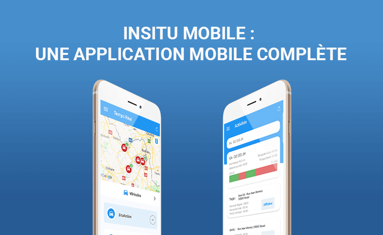 application mobile géolocalisation InSitu